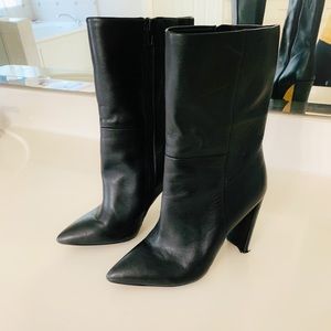 Aldo Leather Boots sz 6